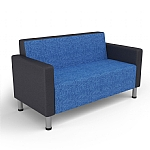 Koosh Two Seater Lounge with Arms