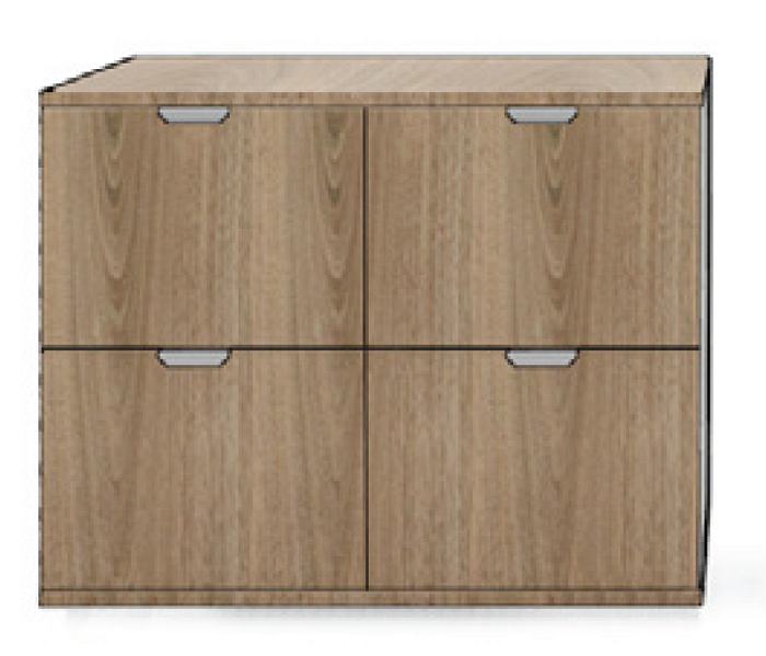Filing Buffet Four Drawers