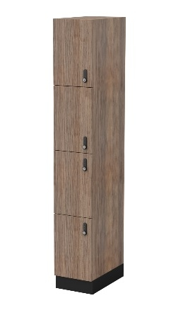 Melamine Four Door Locker