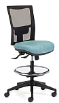 Team Air Heavy Duty Drafting Chair Rated 135Kg