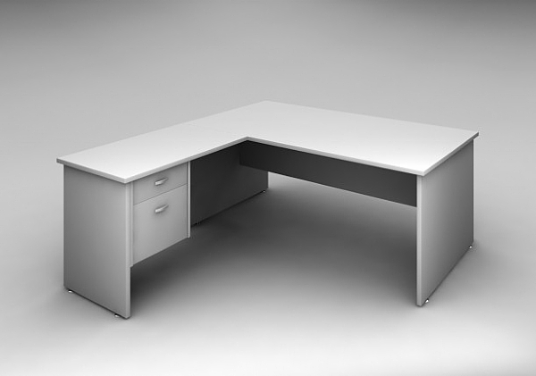 Office Desk With Return Drawers Accent Express Office