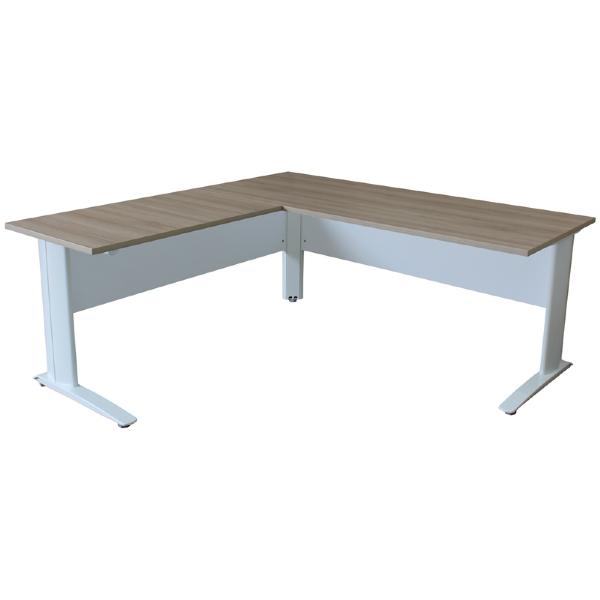 Freshwater Office Desks Australian Made, Dog Leg Desk