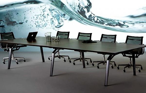 Fluid Boardroom Table Large Boardroom Tables Tables Our - Large boardroom table