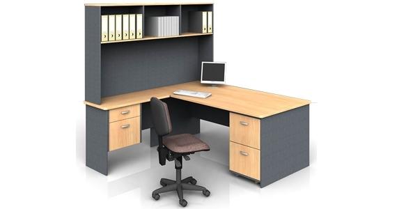 Office Desk Return With Hutch Cc Plus Office Desks Australian
