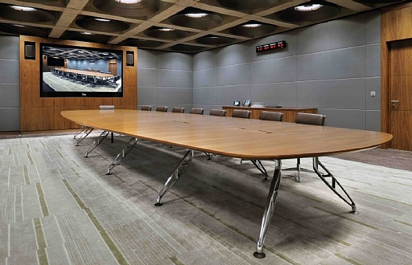 Trapeze Large Boardroom Table Large Boardroom Tables Tables - Large boardroom table