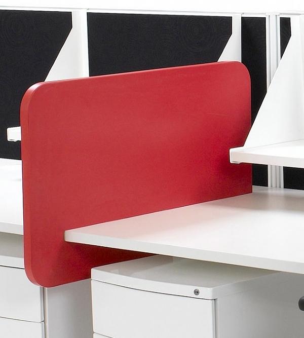 Slip On Divider Screen Desk, Office Desk Divider Screens