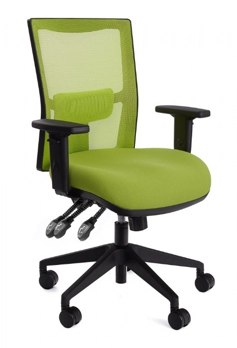 team air coloured mesh back chairs bright coloured office